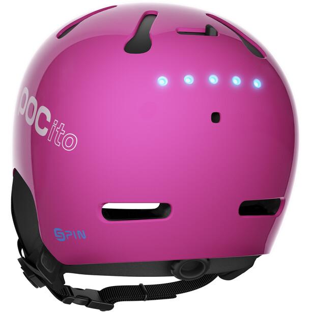 POC POCito Auric Cut Spin Helm Kinder fluorescent pink