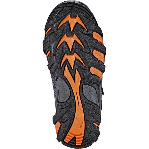 Hi-Tec Blackout Mid WP Schuhe Jungen navy/orange