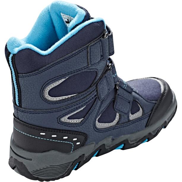 Hi-Tec Thunder WP Schuhe Jungen navy/turquoise/black