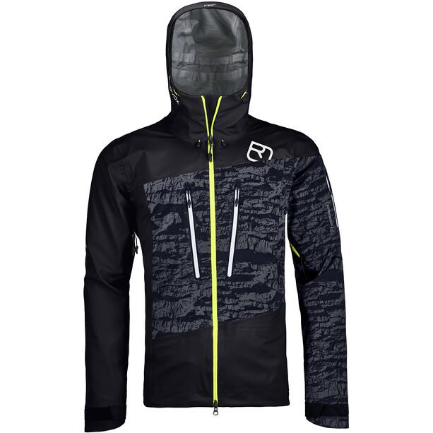Ortovox Guardian 3L Shell Jacket Herr black raven