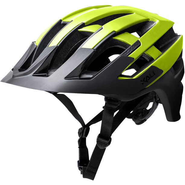 Kali Interceptor Helmet matte neon yellow/black