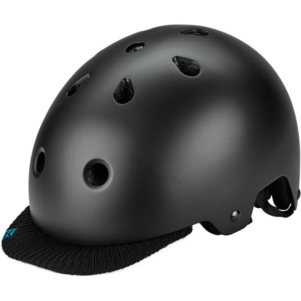 Kali Saha Helm matt schwarz/blau