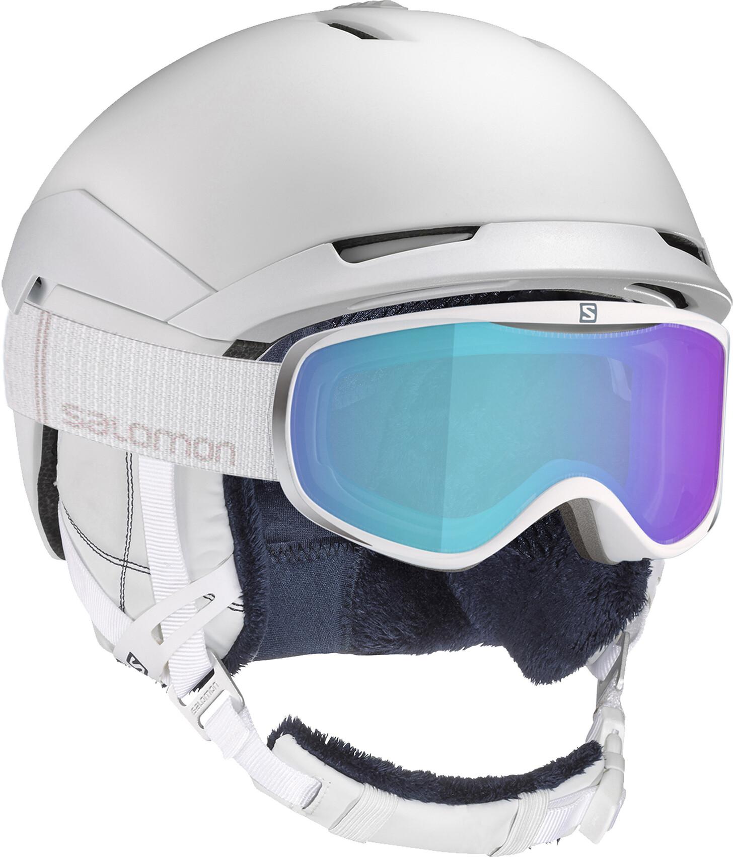 Salomon Quest Helmet Dam white