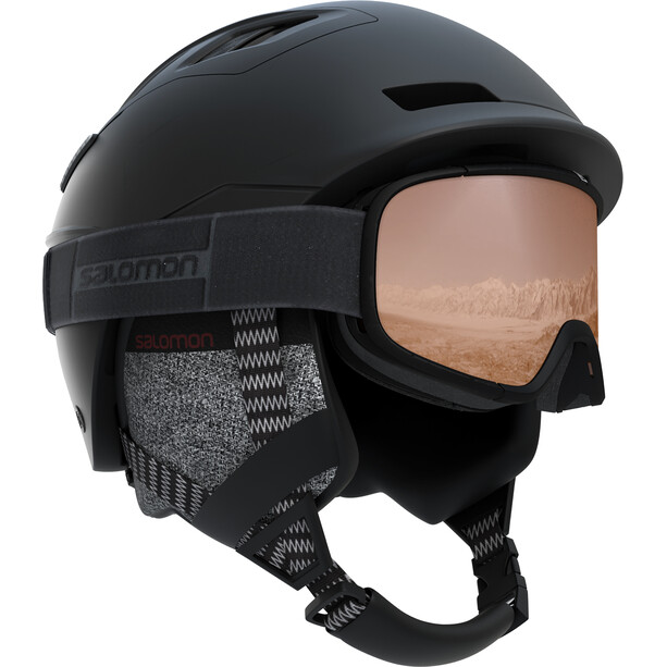 Salomon Qst Charge Mips Black Helmet Herr black