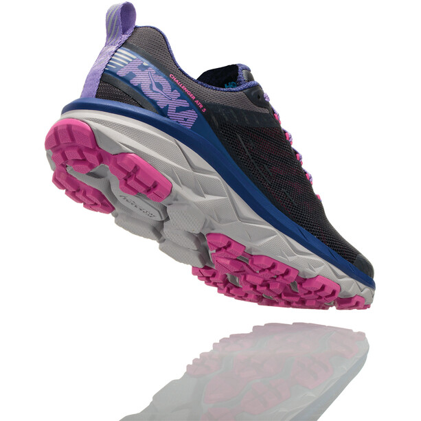 Hoka One One Challenger ATR 5 Running Shoes Dam ebony/very berry