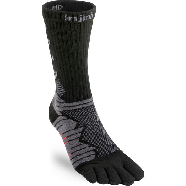 Injinji Ultra Run Crew Socken obsidian