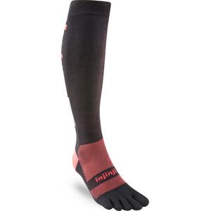 Injinji Compression LW OTC Socks svart/röd svart/röd