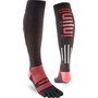 Injinji Compression LW OTC Socks svart/röd