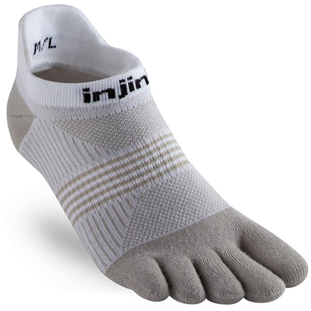 Injinji Run Coolmax Xtra Lightweight Füßlinge Damen white/sand