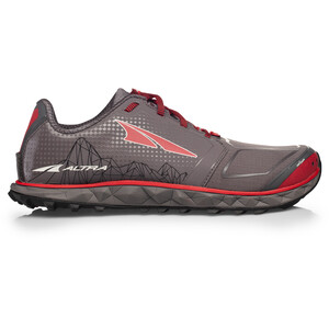 Altra Superior 4 Running Shoes Herr gray/red gray/red