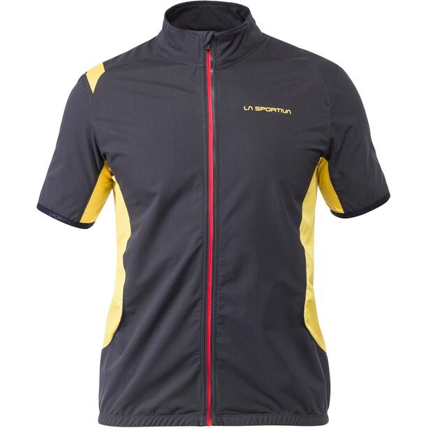La Sportiva Mach Weste Herren black/yellow