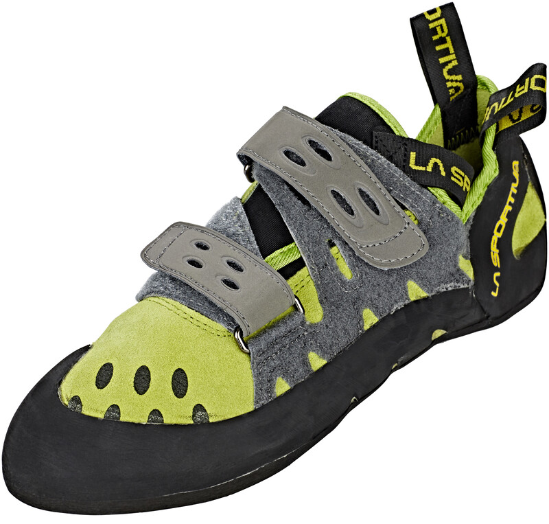 Tarantula Climbing Shoes Men Kiwi/Grey 47 2019 Kletterschuhe