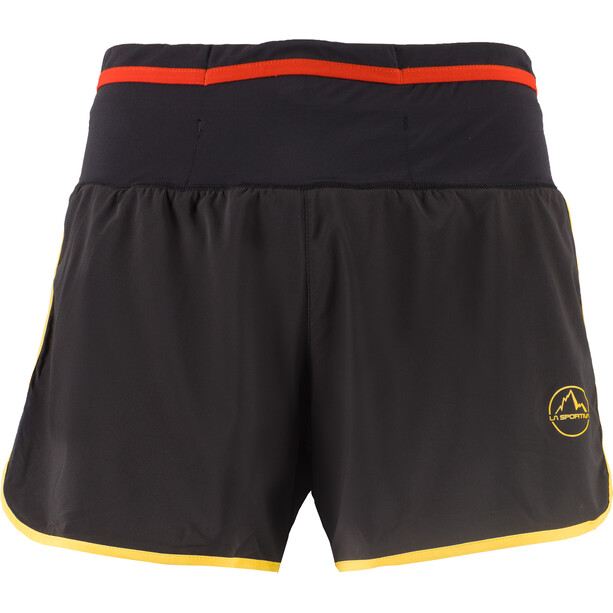 La Sportiva Tempo Shorts Herren black/yellow