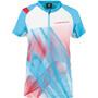 La Sportiva Veloce T-Shirt Damen malibu blue/white