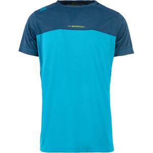 La Sportiva Crunch T-Shirt Herren tropic blue/opal tropic blue/opal