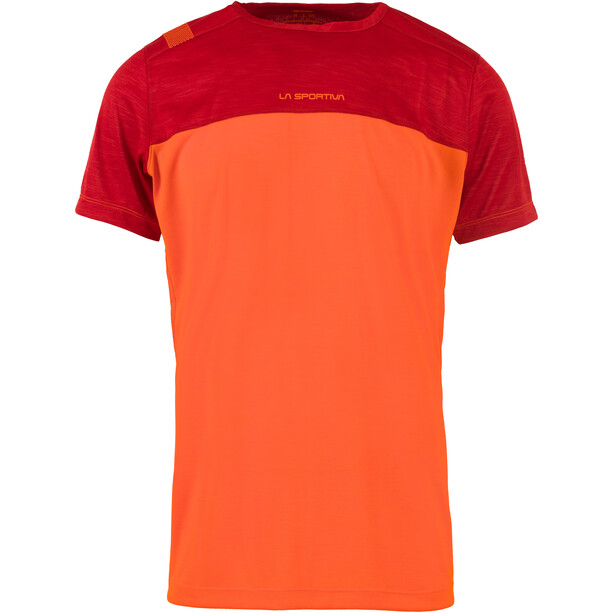La Sportiva Crunch T-Shirt Herren pumpkin/chili