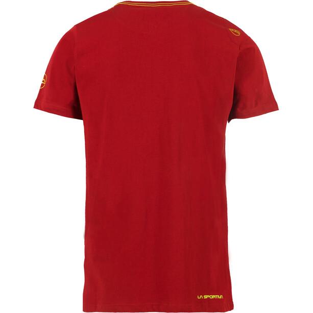 La Sportiva Hipster T-Shirt Homme, chili