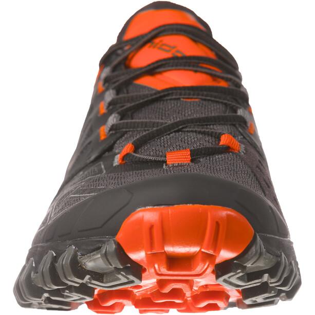 La Sportiva Bushido II Laufschuhe Herren carbon/tangerine