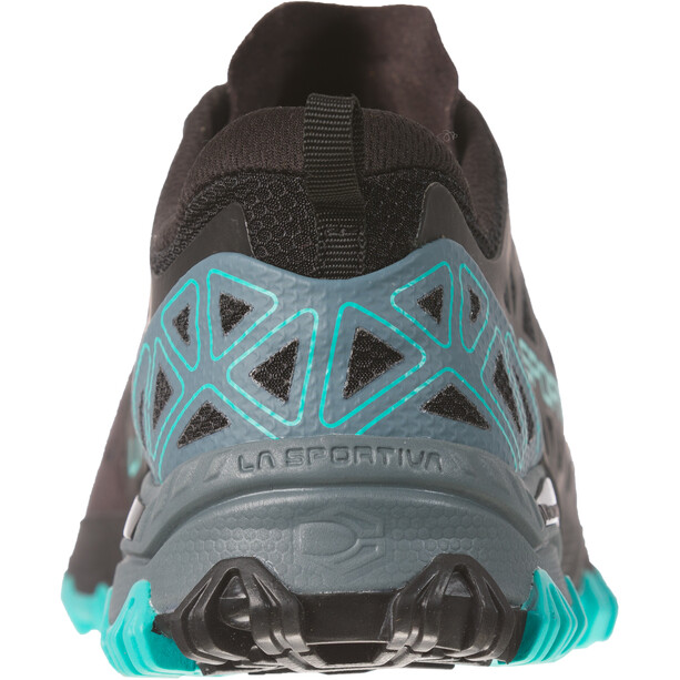 La Sportiva Bushido II Running Shoes Dam slate/aqua