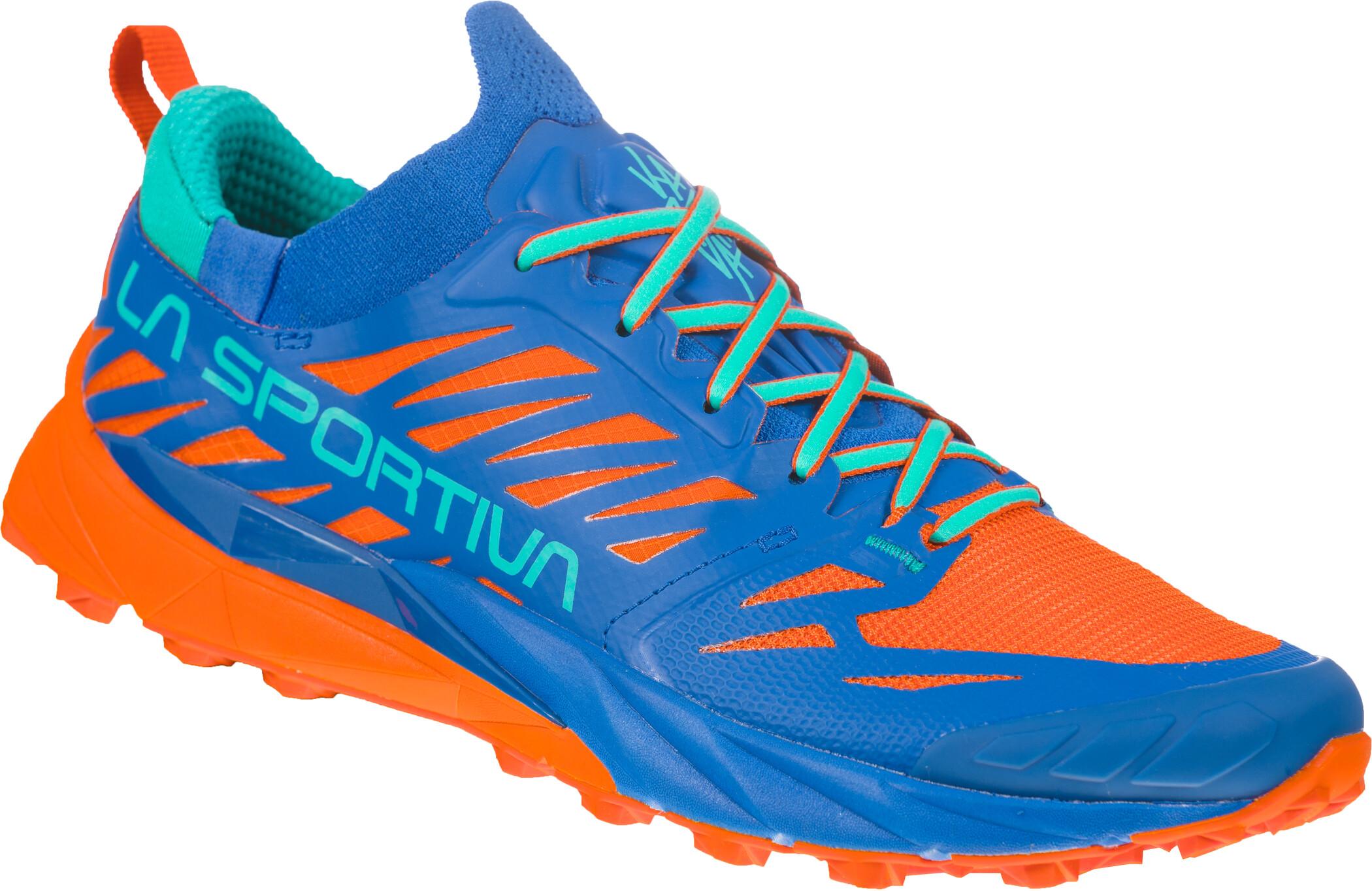 La Sportiva Kaptiva Running Shoes Dam marine blueaqua