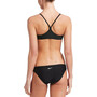 Nike Swim Essential Racerback Bikini Set Damen black