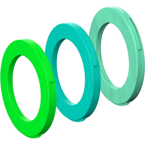 Magura Blenden-Kit 2 Kolben Bremszange ab MJ2015 neongrün/cyan/mintgrün