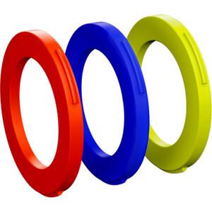 Magura Kit 4 Stempler Ringe fra modelår 2015, blå/rød blå/rød