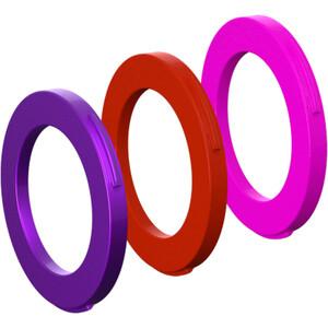 Magura Kit 4 Stempler Ringe fra modelår 2015, violet/rød violet/rød