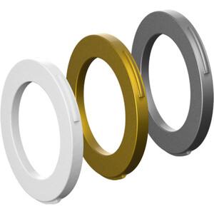 Magura Kit 4 Stempler Ringe fra modelår 2015, hvid/guld hvid/guld