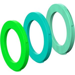 Magura Kit 4 Stempler Ringe fra modelår 2015, grøn grøn