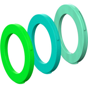 Magura Blenden-Kit 4 Kolben Bremszange ab MJ2015 neongrün/cyan/mintgrün neongrün/cyan/mintgrün