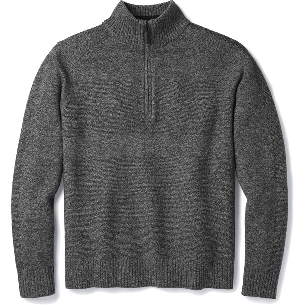 Smartwool Ripple Ridge Half-Zip Sweater Herren grau