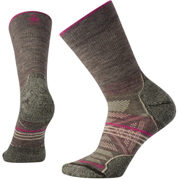 Smartwool PhD Outdoor Light Crew-Cut Socken Damen taupe