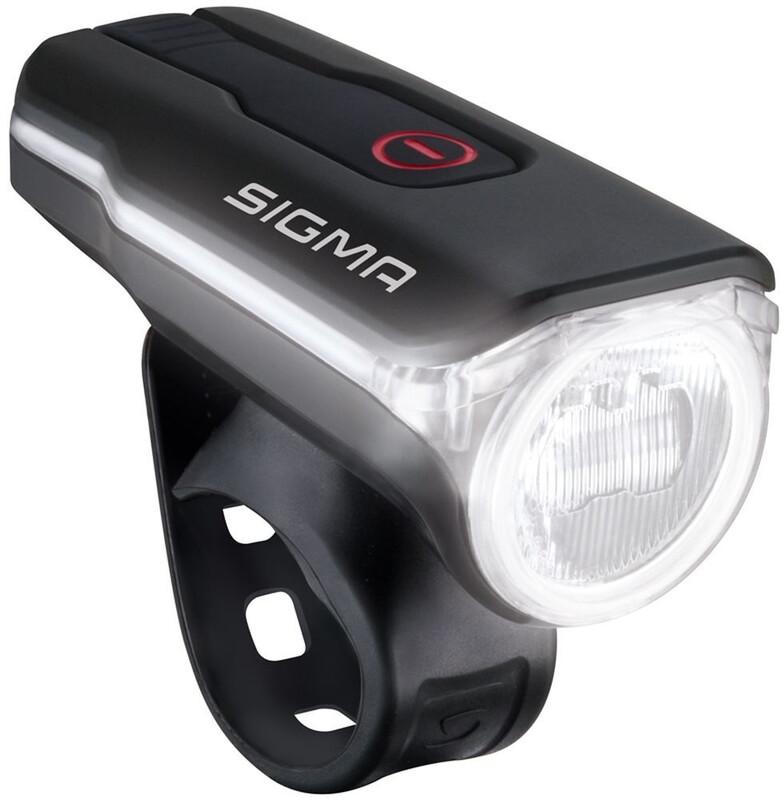SIGMA SPORT Aura 60 USB Sykkellys Svart/Transparent  2019 Batteridrevne Frontlykter