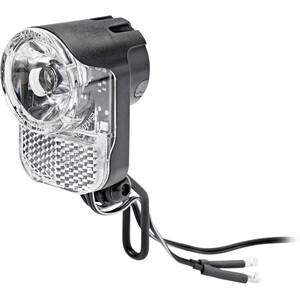 Axa Pico 30 T Linterna frontal para dinamo de buje con soporte y cable