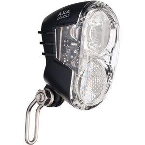 Axa Echo 15 Lampe frontale pour dynamo de moyeu avec support et câble