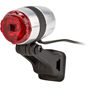 Busch + Müller Rearlight µ Feu de stationnement LED, argent/noir argent/noir