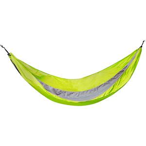 CAMPZ Hamacen nylon Ultra léger, vert/gris vert/gris