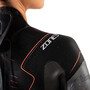 Zone3 Vanquish Wetsuit Damen black/gun metal/coral