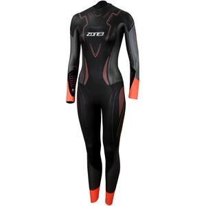 Zone3 Vanquish Wetsuit Damen black/gun metal/coral black/gun metal/coral