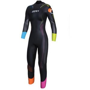 Zone3 Aspire Limited Edition Print Wetsuit Damen schwarz schwarz