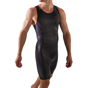 Zone3 Neoprene Kneeskin Herren black/red black/red