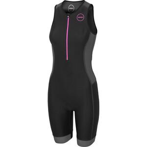 Zone3 Aquaflo Plus Trisuit Damen black/grey/neon pink black/grey/neon pink