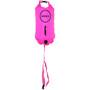Zone3 Swim Safety Buoy Dry Bag 28l hi-vis pink