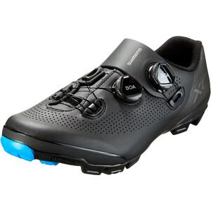 Shimano SH-XC7 Bike Shoes Wide Men, musta musta