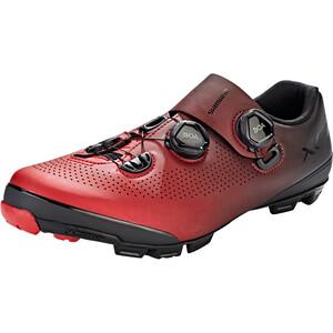 Shimano SH-XC7 Bike Shoes Wide Men red red