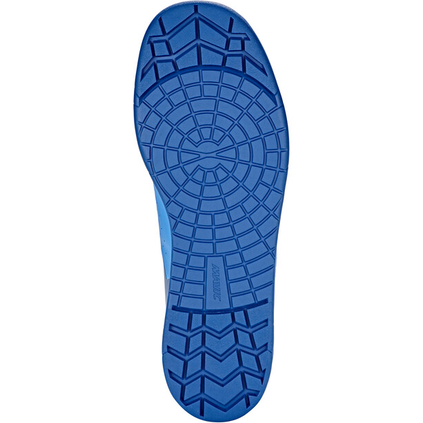 Mavic Deemax Elite Flat Mid-Cut Schuhe poseidon/indigo