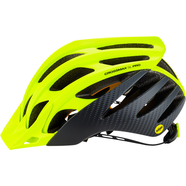 Mavic Crossmax SL Pro MIPS Helm Herren safety yellow