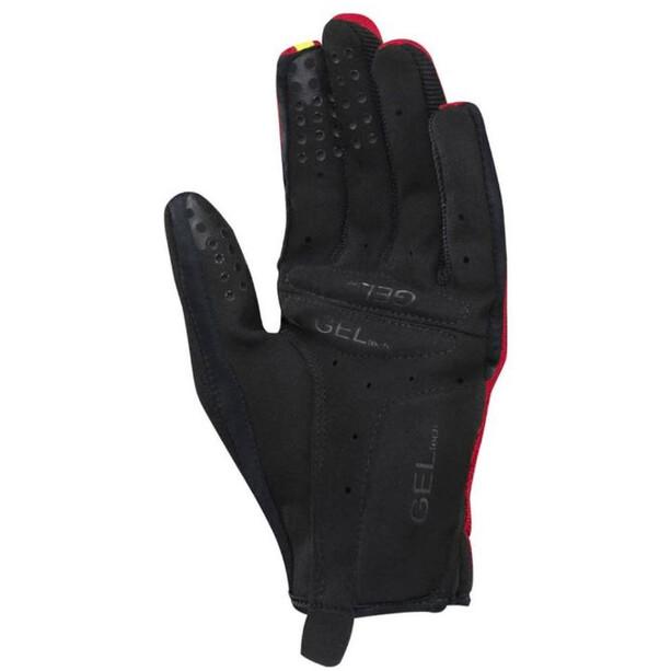 Mavic Essential LF Shell Gloves Herre red
