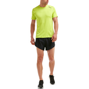 2XU GHST Kurzarm T-Shirt Herren wild lime/wild lime wild lime/wild lime